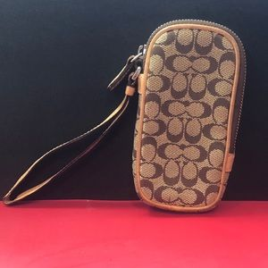 Coach Tan Small Case